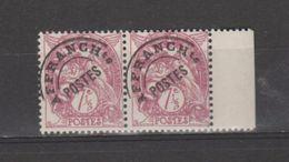 FRANCE / 1922-1947 / Y&T Préo N° 42 ** : Blanc 7,5c Lilas X 2 En Paire Dont 1 BdF D - Préoblitérés