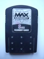 PLAYSTATION 1 ET 2   =  3 CARTES MEMOIRE - Accessories