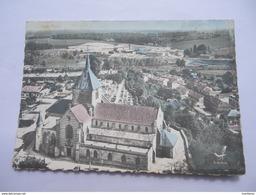 CPSM 51 - MARNE - EN AVION AU-DESSUS DE SAINTE-MENEHOULD - Sainte-Menehould