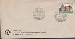 3155 Carta  Barcelona 1973 Congreso Mundial Comunicaciones Humanas Y Ecologia - 1931-Aujourd'hui: II. République - ....Juan Carlos I