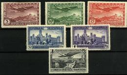 1015-España Nº 614/19 - 1931-50 Nuevos & Fijasellos