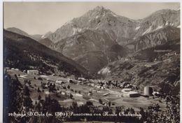 Sauze D'Oulx. Panorama Con Monte Chaberton - Italy