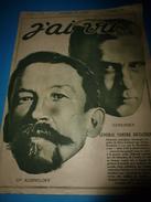1917 J'AI VU: Kerensky; Souvenirs Sur MARIE Reine De Roumanie;Les Pigeons-soldats Héroïques ;Une Corrida De Muerte; Etc - French