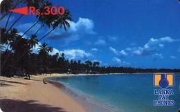 *SRI LANKA - 5SRLB* -  Scheda Usata - Sri Lanka (Ceylon)