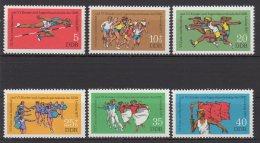 DDR / Turn- Und Sportfest; Kinder- Und Jugendspartakiade, Leipzig / MiNr.: 2241 - 2246 - Unused Stamps