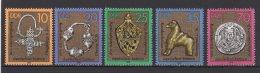 DDR / Kostbarkeiten Von Slawischen Stätten / MiNr.: 2303 - 2307 - Unused Stamps
