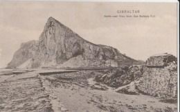 13129) GIBRALTAR NORH EAST VIEW FROM SAN BARBARA FORT NON VIAGGIATA 1920 CIRCA - Gibilterra