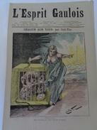 L'ESPRIT GAULOIS.n°43.jeudi 1er Décembre 1881.TTB. - Journaux - Quotidiens