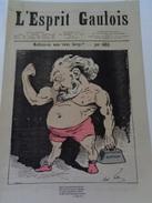 L'ESPRIT GAULOIS.n°29.jeudi  25 Août 1881.TTB. - Journaux - Quotidiens
