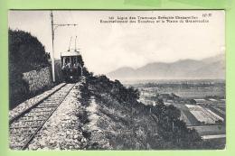 Ligne Des TRAMWAYS GRENOBLE CHAPAREILLAN - Les ECOUTOUX Arrivée Du Train - 2 Scans - Non Classés