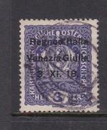 Venezia Giulia N1 1918 Austrian Stamps Overprinted 3h Light Violet Used - 8. WW I Occupation