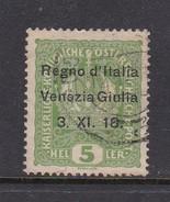 Venezia Giulia N2 1918 Austrian Stamps Overprinted 5h Green Used - 8. WW I Occupation