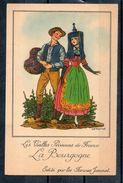 Bourgogne. Farines Jammet. Carte Illustrée - Advertising