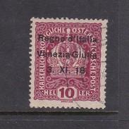 Venezia Giulia N4 1918 Austrian Stamps Overprinted 10 H Magenta Mint Hinged - 8. WW I Occupation