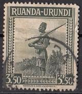82 Ruanda Urundi 1942 Askari Used - Ruanda