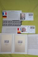 1988 LOT Emission Commune France Allemagne  _ 25eme Anniversaire Traité Coopération Sous Blister +FDC - Gemeinschaftsausgaben
