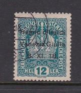 Venezia Giulia N5 1918 Austrian Stamps Overprinted 12h Light Blue Used - 8. WW I Occupation