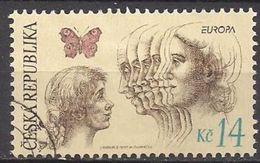 Tschechien  (1995)  Mi.Nr.  77  Gest. / Used  (8fi10)  EUROPA - Tschechische Republik