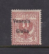 Venezia Giulia N21 1918 Italian Stamps Overprinted 2c Orange Brown Mint Hinged - 8. WW I Occupation