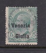 Venezia Giulia N22 1918 Italian Stamps Overprinted 5c Used Hinged - 8. WW I Occupation