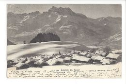 17059 - Leysin En Hiver - VD Vaud