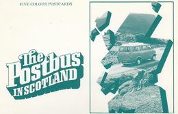 Leaflet: 'The Postbus In Scotland' - BEDFORD CF ROYAL MAIL &  126 Scottish Postbus Services - Auto's