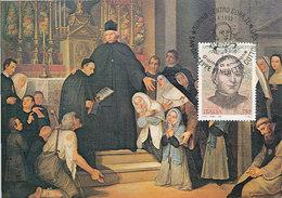 D30774 CARTE MAXIMUM CARD TRIPLE 1993 ITALY - SAN GIUSEPPE COTTOLENGO CP ORIGINAL - Christianity