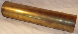 Douille De 75mm Français WW1 14 18 1914 1918 - 1914-18