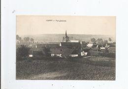 CAPPY (SOMME) VUE GENRALE PANORAMIQUE AVEC EGLISE 1915 - France