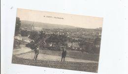 CAPPY (SOMME) 10 VUE GENERALE PANORAMIQUE AVEC EGLISE ET HOMMES POSANTS DANS UN PRE   1915 - France