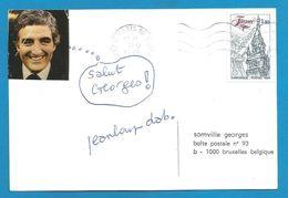 (A624) - Signature / Dédicace / Autographe Original - Jean-Loup DEBADIE - Homme De Lettres - Autographes