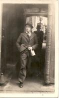 ----  Photo Carte  - L'homme Préssé - 1935 - Fotografia