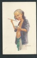 Mangeur De Riz  - Illustration Signée A Joyeux - Odh05 - Vietnam