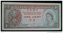 1 Cent  UNC - Hong Kong