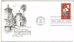 USA SAINT AUGUSTINE 1965 FLORIDA EMISION CONJUNTA CON ESPAÑA JOINT ISSUE - Emisiones Comunes