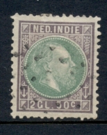 Nederlands Indië - 1872 - 2,50 Cent Willem III NVPH 16 - Gebruikt - Used - Nederlands-Indië