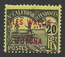 Wallis And Futuna, 20 C. 1920, Sc # J4, MNH - Postage Due