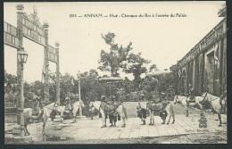 Annam - Hué -  Chevaux Du Roi à L'entrée Du Palais   - Odh30 - Vietnam