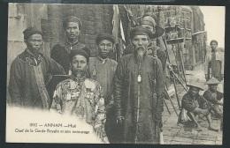 Annam - Hué -   Chef De La Garde Royale Et Son Entourage  - Odh31 - Vietnam