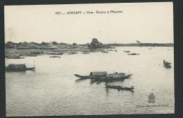 Annam - Hué -   Rivière Et Marché   - Odh32 - Vietnam