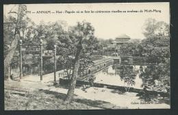 Annam - Hué -   Pagode Ou Se Font Les Cérémonies Rituelles Au Tombeau De Minh-Mang  - Odh34 - Vietnam