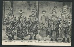 Annam - Hué -  Grands Mandarins De La Cour - Conseil Des Ministres     - Odh37 - Vietnam