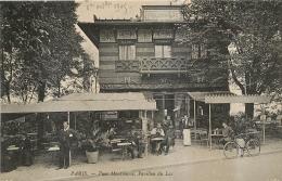 PARIS PARC MONTSOURIS PAVILLON DU LAC - Arrondissement: 14