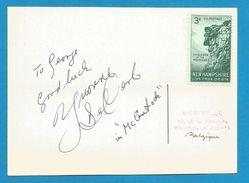 "(A648b) - Signature / Dédicace / Autographe Original - DE CARLO Yvonne - Actrice Américaine - ""Mc Lintock"" 1969 - Autographes"