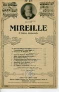 PARTITION OPÉRA GOUNOD MIREILLE O LÉGÈRE HIRONDELLE VALSE ARIETTE CARVALHO - Opera