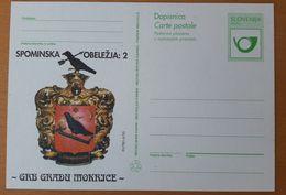 SLOVENIA 1995  Castle Mokrice Coat Of Arms  Postal Card - Slovenië
