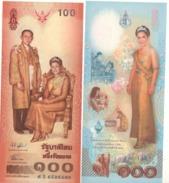 """THAILAND   100 Baht  """"Commemorative""""   P111     2004 UNC - Thailand"""