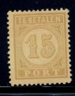 Nederlands Indië - 1875 - 15 Cent Port NVPH P3 - Zonder Gom / No Gum - Niederländisch-Indien