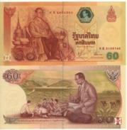 """THAILAND   60 Baht  """"Commemorative""""   P116    2006  UNC - Thailand"""