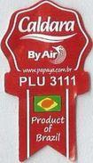 # MANGO CALDARA Brazil By Air Fruit Sticker Label, Etichette Etiquettes Etiquetas Adhesive Aufkleber Fruta Frucht - Fruits & Vegetables